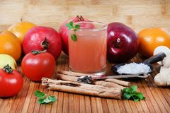 Healthy juice Royalty Free Stock Image