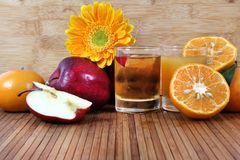 Healthy juice Royalty Free Stock Images