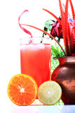 Healthy juice diet Royalty Free Stock Photography