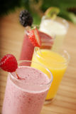 Healthy juices Stock Photography