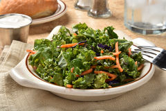 Healthy kale salad Stock Photo