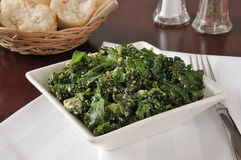 Healthy kale salad Royalty Free Stock Photography