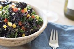Healthy Kale Salad Stock Image