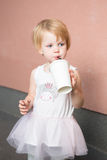 Healthy kid, milk Royalty Free Stock Photo