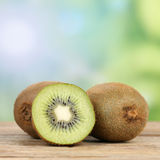 Healthy kiwi fruit with copyspace Royalty Free Stock Images