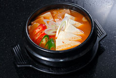 Healthy Korean Soup Royalty Free Stock Images