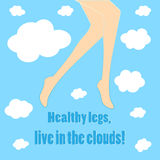 Healthy legs Royalty Free Stock Image