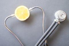 Healthy lemon Royalty Free Stock Image