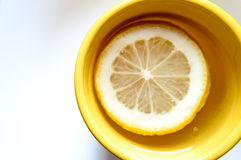 Healthy lemon tea. Sweet and healthy tea for everyone Royalty Free Stock Photo