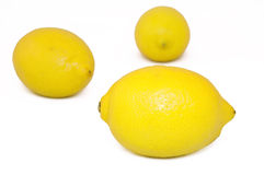 Healthy lemons. The pieces of fresh lemons Royalty Free Stock Image