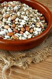 Healthy lentils and legumbres for diet Royalty Free Stock Photo
