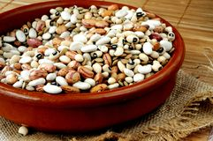 Healthy lentils and legumbres for diet Stock Photo