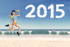 Healthy life concept in 2015 Royalty Free Stock Photos