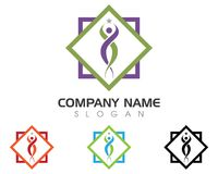 Healthy Life Logo template Stock Photos
