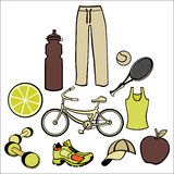 Healthy life style Stock Images