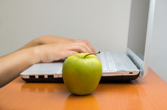 Healthy life at the work Royalty Free Stock Photography