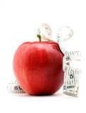 Healthy lifestyle. Close up of a red apple as a concept of healthy lifestyle and nutrition Stock Photography