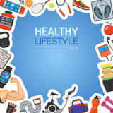 Healthy Lifestyle Background Stock Photography