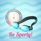 Healthy lifestyle background Royalty Free Stock Images