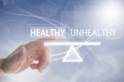Healthy lifestyle balance concept Stock Photography