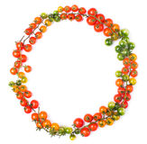 Healthy lifestyle cherry tomatoes Stock Images