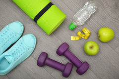 Healthy lifestyle concept Stock Photography
