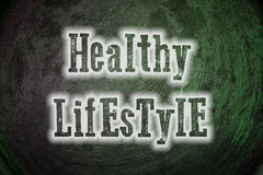 Healthy Lifestyle Concept Royalty Free Stock Images