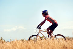 Healthy lifestyle cycling Royalty Free Stock Photos