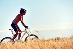 Healthy lifestyle cycling Stock Photography