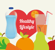 Healthy Lifestyle design Stock Photo
