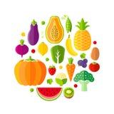 Healthy lifestyle design element Stock Photos