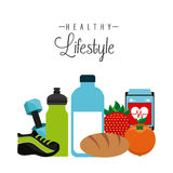 Healthy lifestyle Royalty Free Stock Photos
