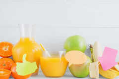 Healthy lifestyle  and diet concept Stock Image
