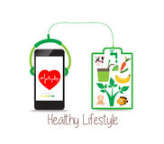 Healthy Lifestyle, energy for life Stock Photography