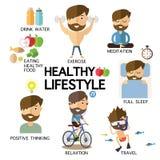 Healthy lifestyle Royalty Free Stock Photos