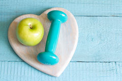 Healthy lifestyle exercise and diet stock images