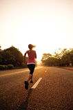 Healthy lifestyle fitness sports woman running Royalty Free Stock Photography