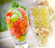 Healthy lifestyle - healthy diet Royalty Free Stock Images