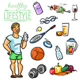 Healthy Lifestyle - Man Stock Images