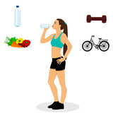 Healthy Lifestyle. Proper nutrition. Stock Image