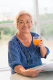 Healthy lifestyle for seniors Royalty Free Stock Photography
