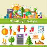 Healthy lifestyle Stock Photos