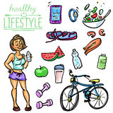 Healthy Lifestyle - Woman Stock Photography