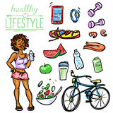 Healthy Lifestyle - Woman Royalty Free Stock Photography