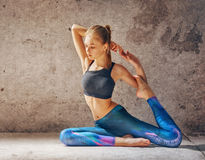 Healthy lifestyle and yoga concepts Stock Photos