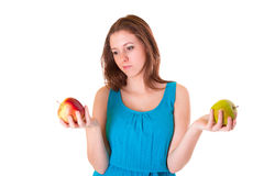 Healthy lifestyle of young woman Stock Image