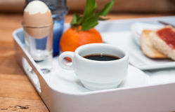Healthy and light breakfast Stock Image