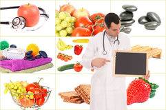 Healthy living stock images
