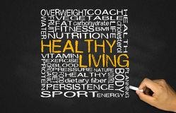 Healthy living concept Royalty Free Stock Image
