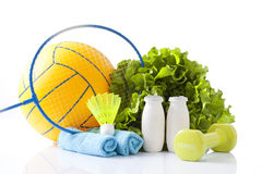Healthy living concept Stock Image